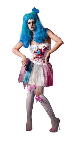 Sexy Zombie Candy Girl Dress Costume Adult