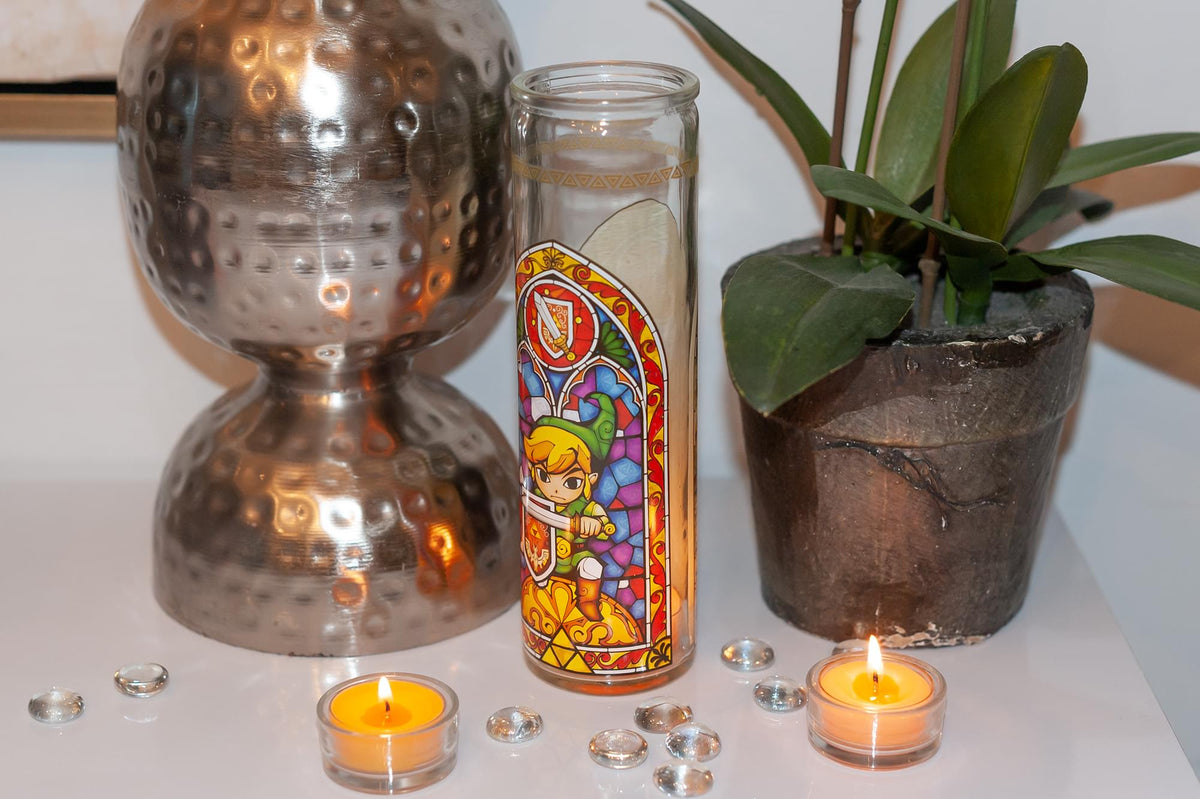 The Legend of Zelda Glass Candle Holder | Exclusive Legend Of Zelda Collectible