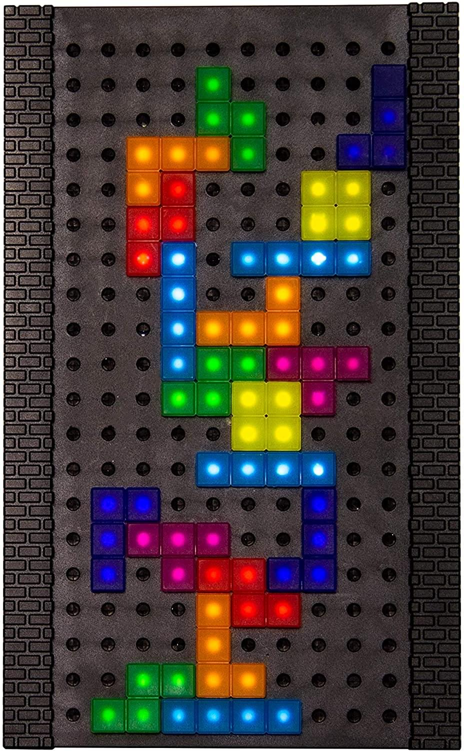 Tetris USB Light | Interactive Lamp w/ 53 Moveable Tetrimino Pieces