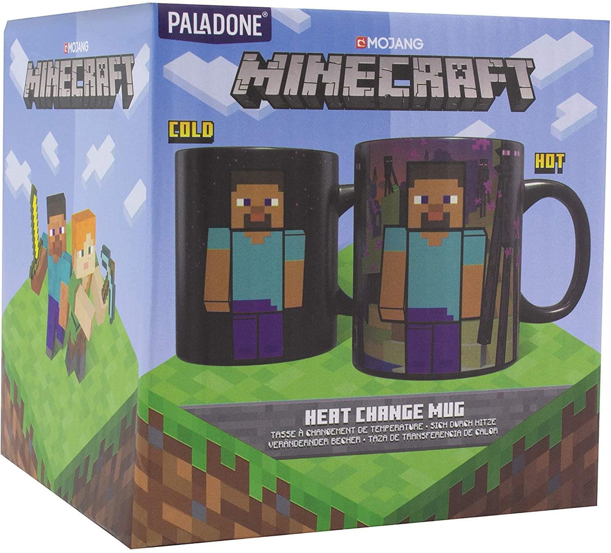 Minecraft Enderman 11oz Heat Change Ceramic Mug