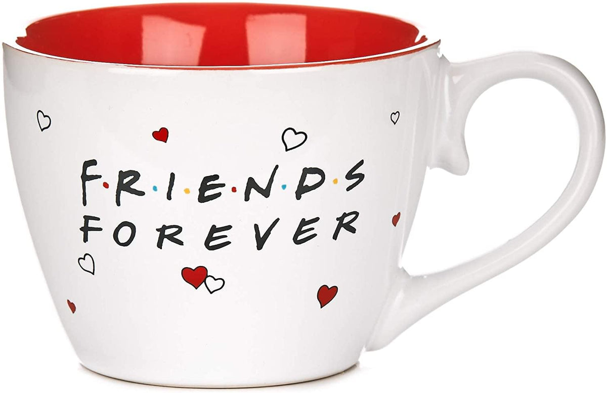 Friends Forever Ceramic Coffee Mug