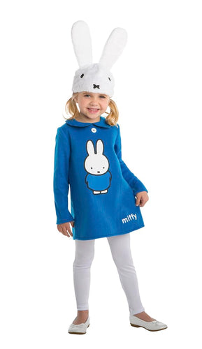 Miffy Toddler Costume Dress w/ Hood