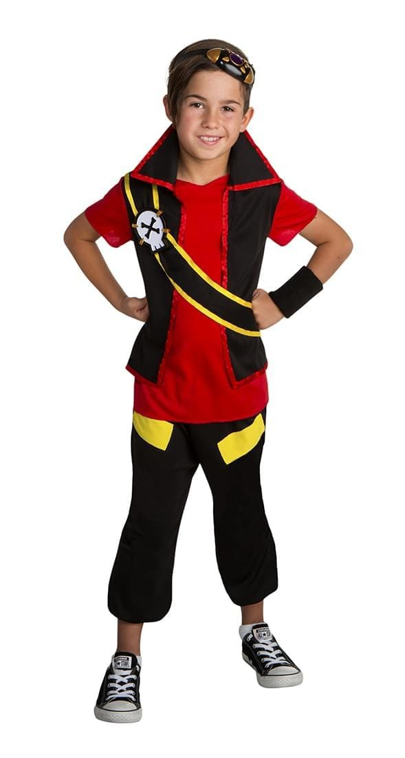 Zak Storm Classic Costume Child Small 4-6