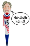 Hillary Clinton Laughing Novelty Pen