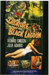 Creature Black Lagoon Poster Cling Halloween Decoration