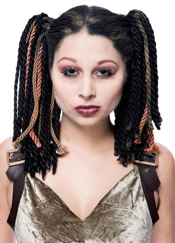 Gothwerks Dread Band Adult Costume Wig