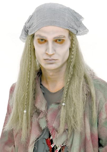 Ghost Stories Pirate Adult Costume Wig