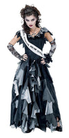 Zombie Prom Queen Costume Dress Adult
