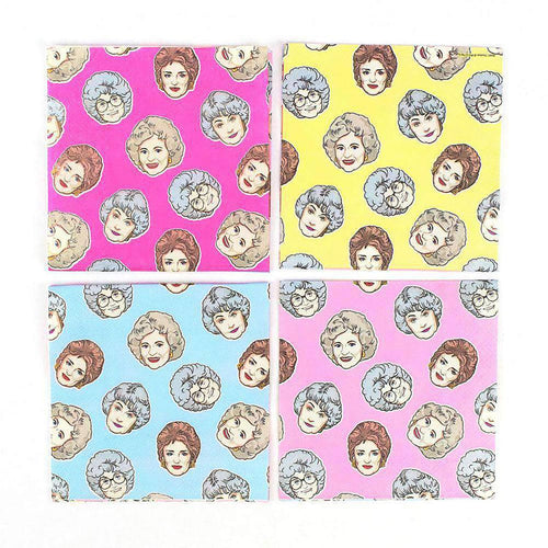 The Golden Girls Beverage Party Napkins | 16 Pack
