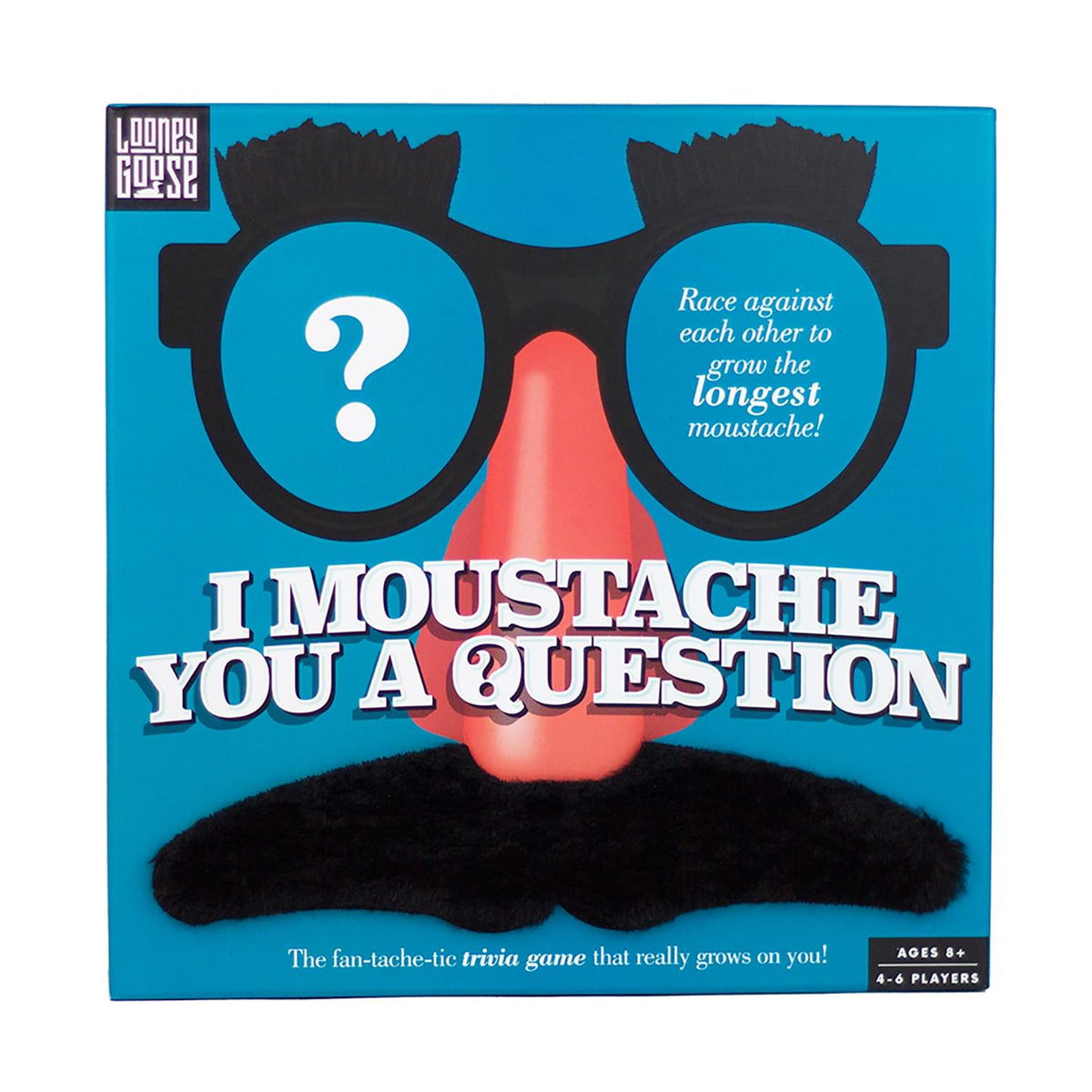 I Moustache You A Question Party Game | 4-6 Players
