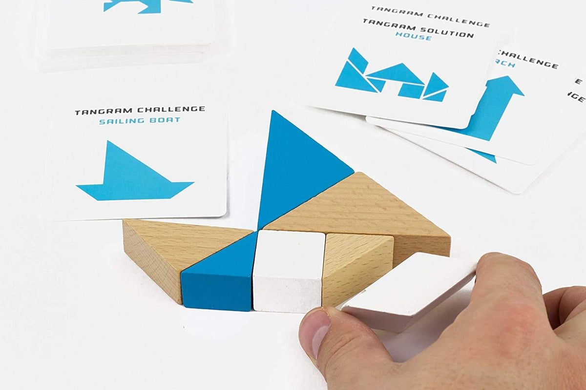 S.T.E.M. Educational Games | Engineering Tangram & Puzzle Cards