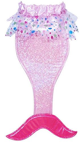 Girl's Costume Mermaid Tail with Sound: Hot Pink