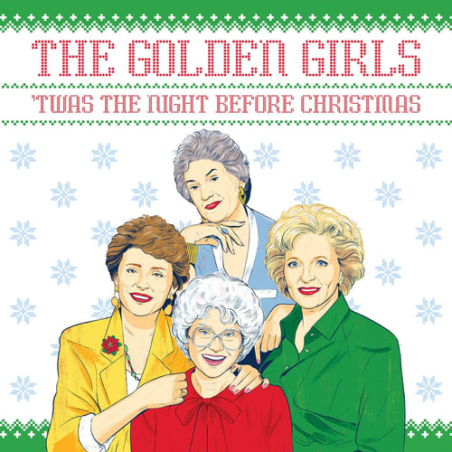 The Golden Girls Twas the Night Before Christmas 32 Page Hardcover Book