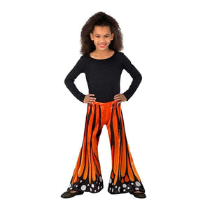 Monarch Butterfly Girl's Costume Pants - M/L