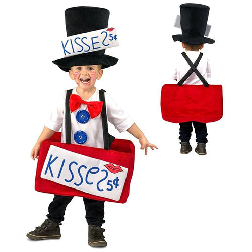 Kissing Booth Toddler Costume X-Small/Small