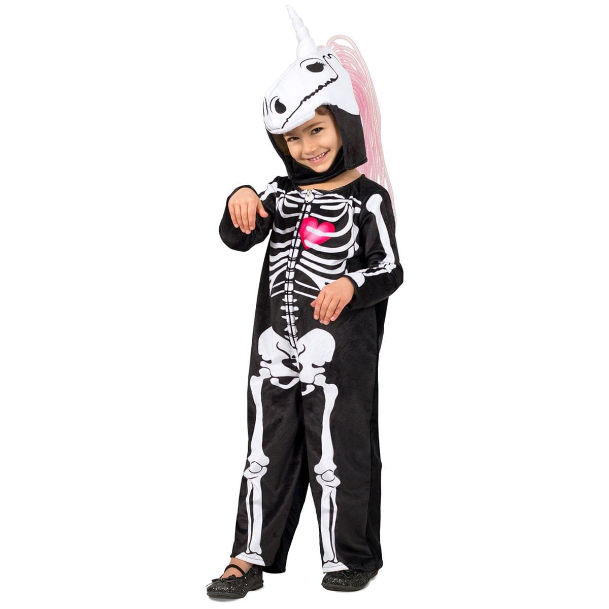 Skelly-Corn Girl's Costume - Large 10