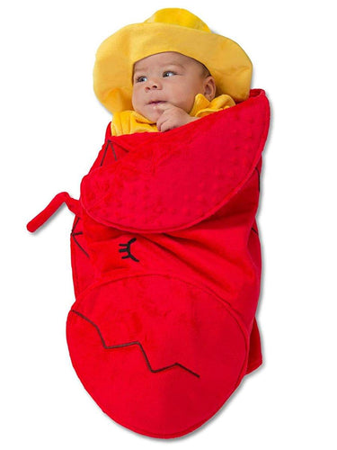 Swaddle Wings Lobster Fisherman Child Costume 0/3M