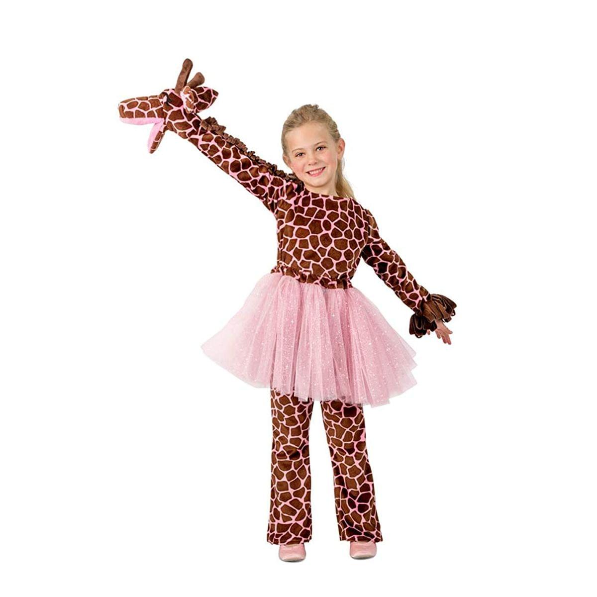 Playful Puppet Giraffe Girl's Costume