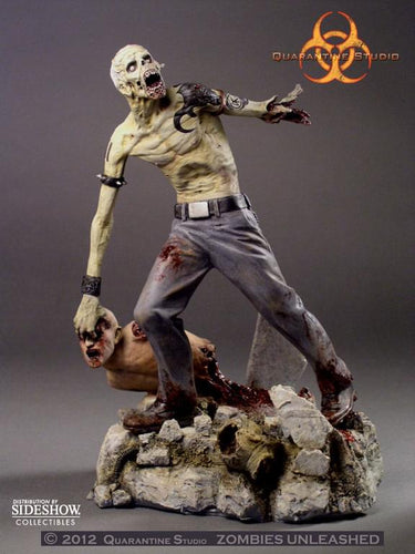 Zombies Unleashed Otto the Punk Statue