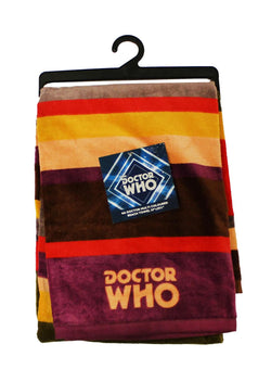 "Doctor Who 30""x60"" 4th Doctor Scarf Beach Towel"