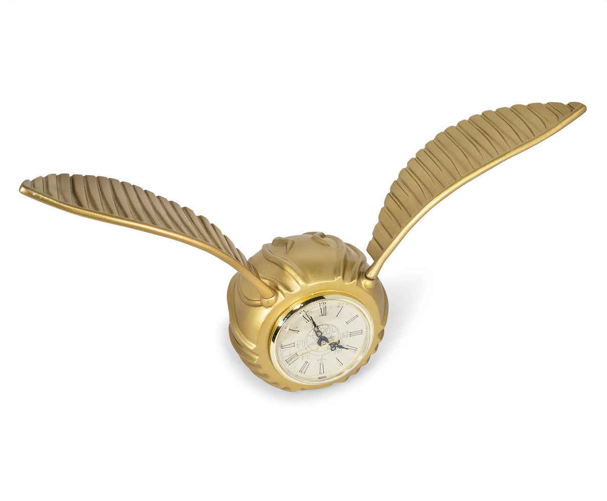 Harry Potter Golden Snitch Replica Resin Desk Clock | 9 x 18 Inches