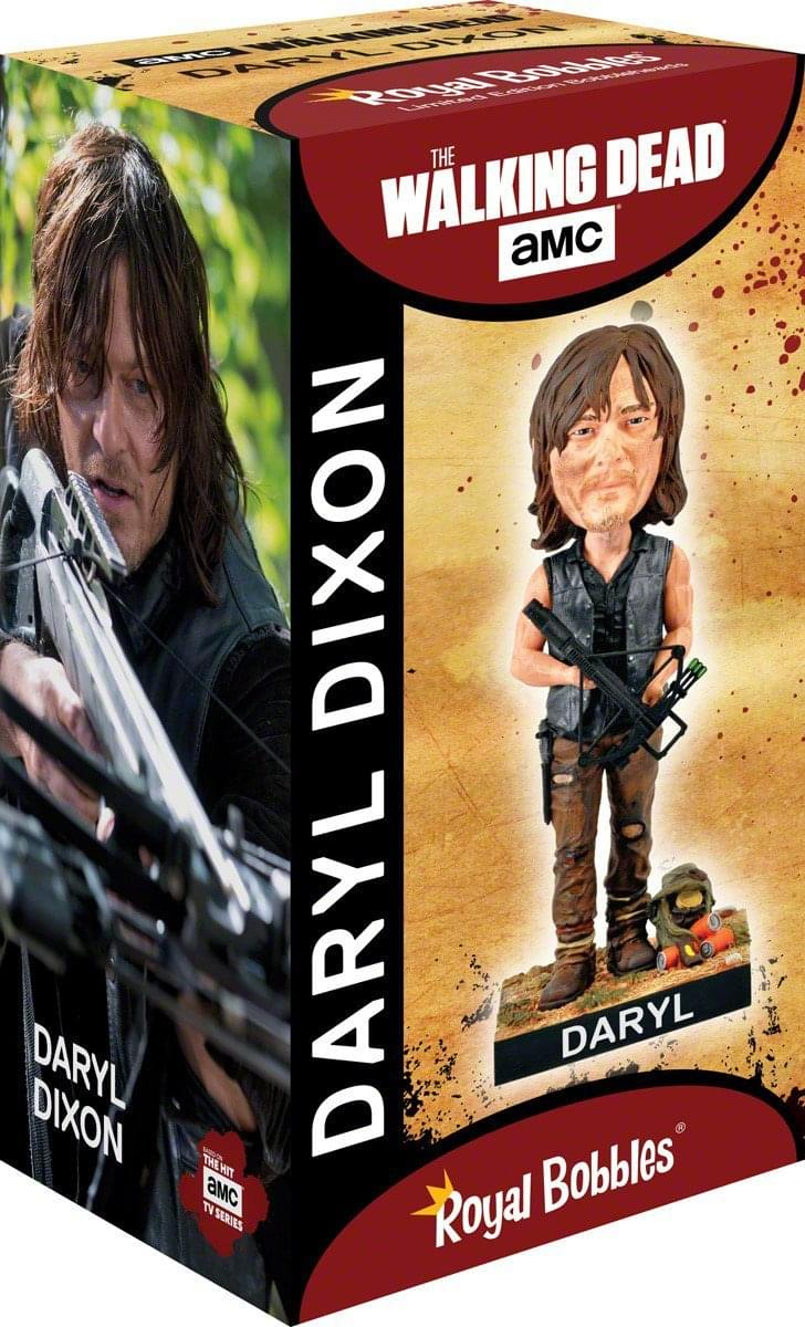 Royal Bobbles The Walking Dead Daryl Dixon Polyresin Bobblehead