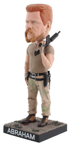 The Walking Dead Abraham 8 Inch Resin Royal Bobbles Bobblehead