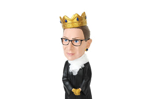 Royal Bobbles Notorious R.B.G. Ruth Bader Ginsburg Bobblehead | 8 Inches Tall