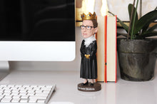 Load image into Gallery viewer, Royal Bobbles Notorious R.B.G. Ruth Bader Ginsburg Bobblehead | 8 Inches Tall