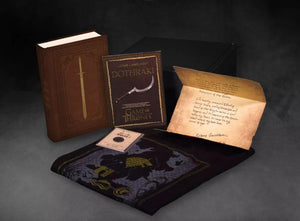 Game of Thrones 20th Anniversary Collectible Gift Box w/ Book | Shirt