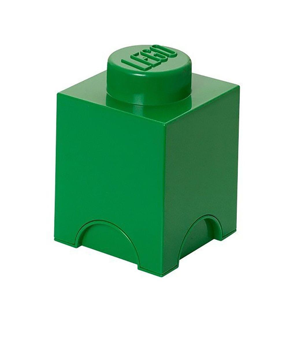 LEGO Storage Brick 1, Dark Green