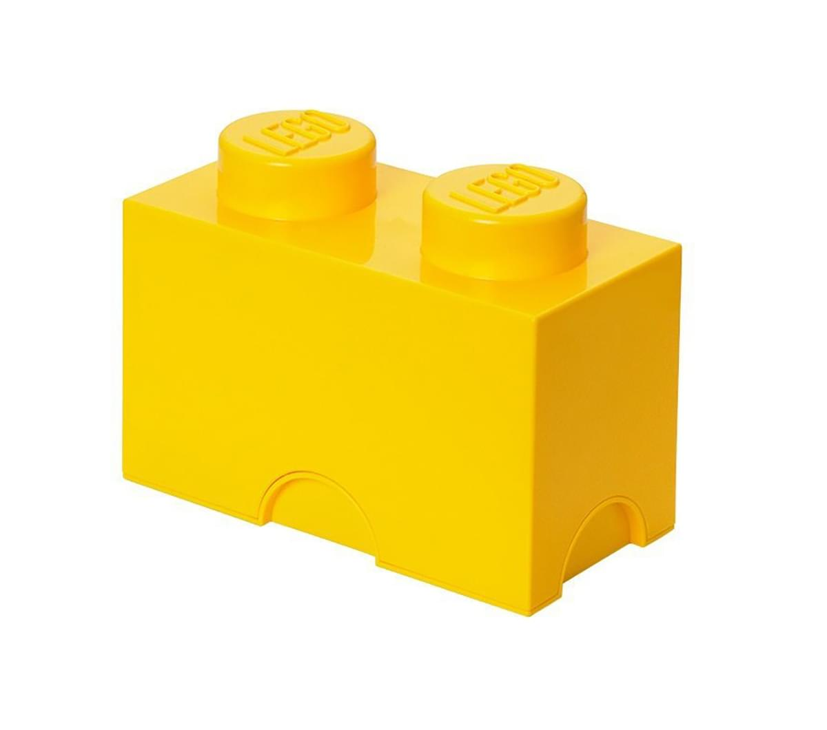 LEGO Storage Brick 2, Bright Yellow