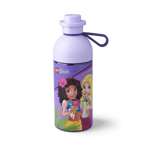 LEGO 17oz Hydration Bottle, Transparent Lilac (Friends)