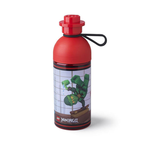 LEGO 17oz Hydration Bottle, Transparent Red (Ninjago)