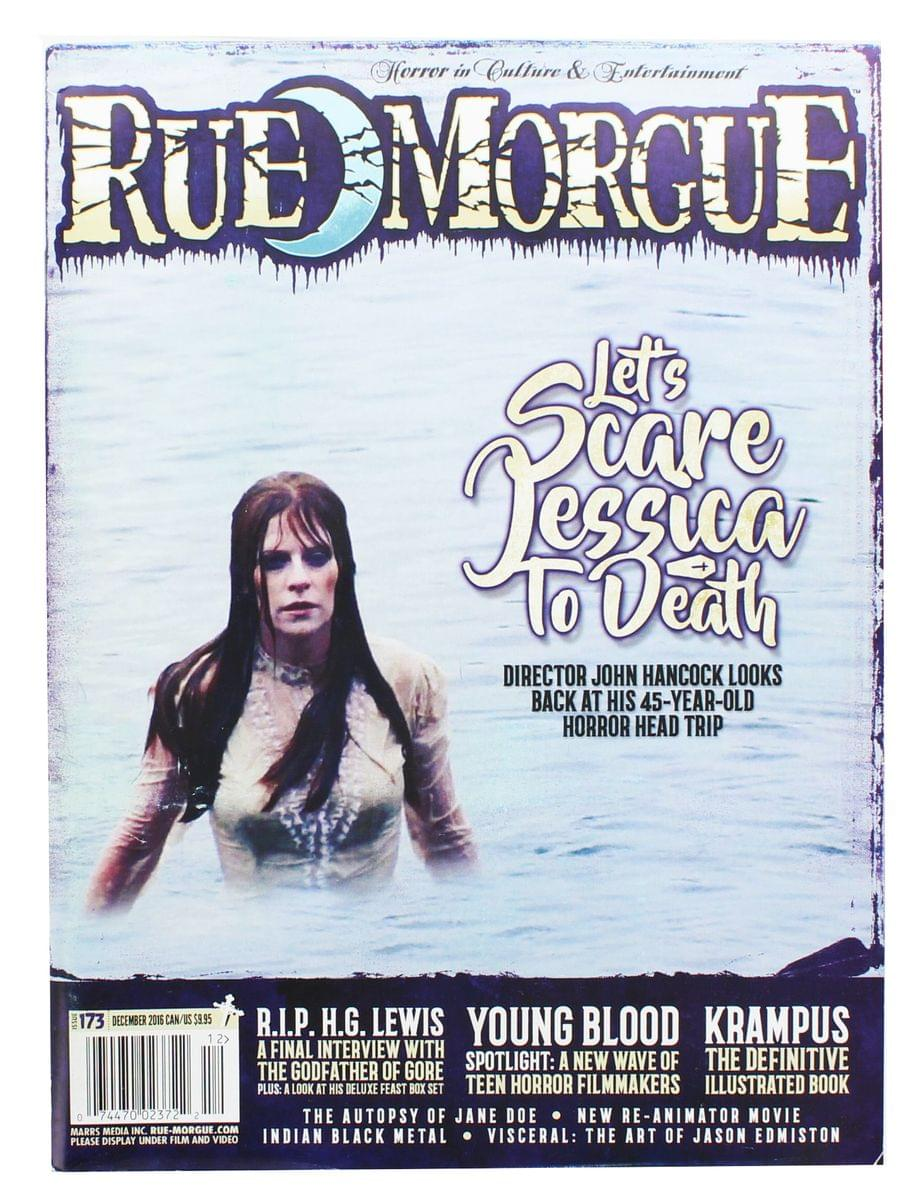 Rue Morgue Magazine #173: Let's Scare Jessica to Death