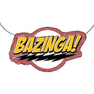 Big Bang Theory Bazinga Flash Necklace