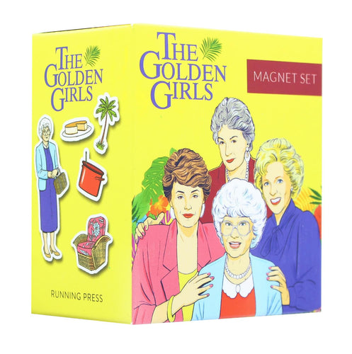 The Golden Girls Magnet and Book Set