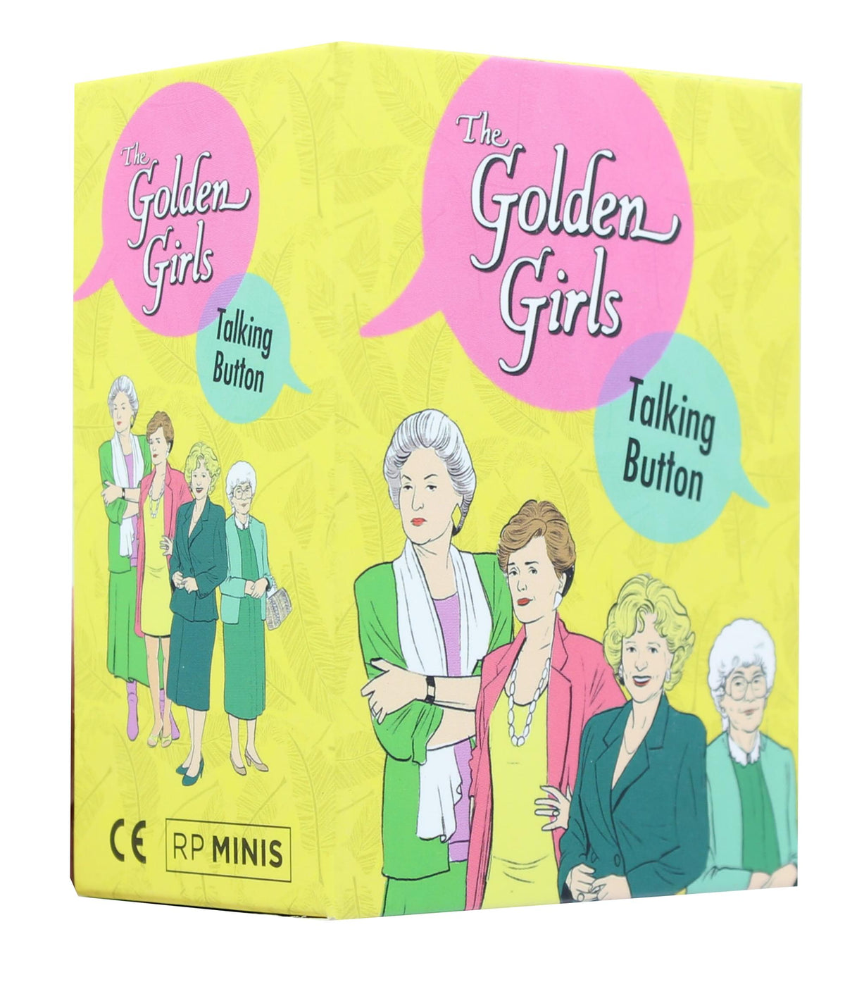 The Golden Girls Talking Button and Mini Book Kit