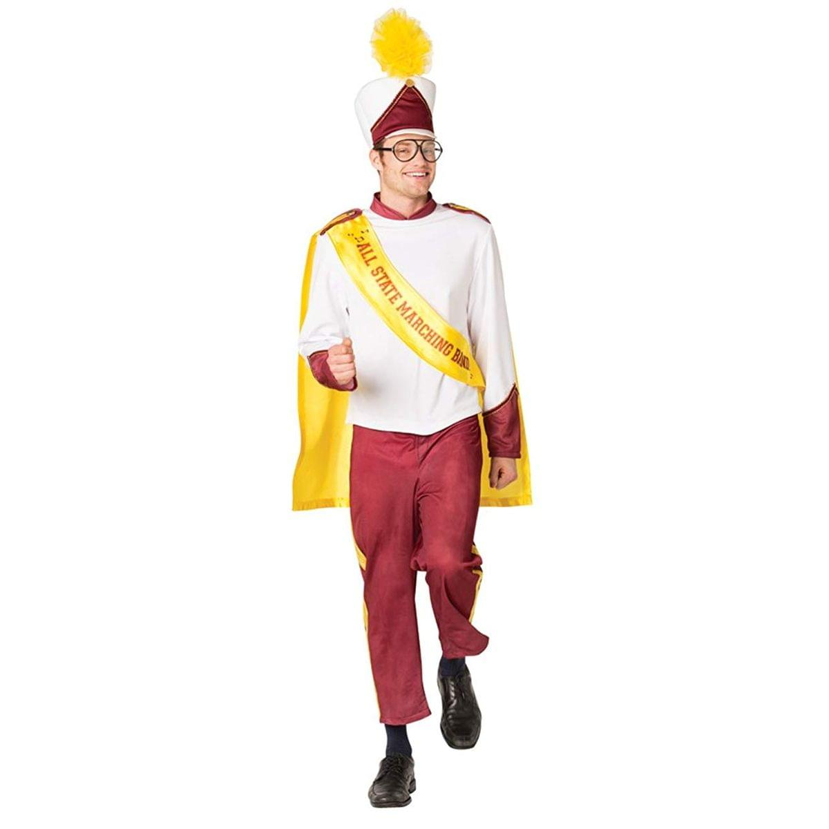 High School Marching Band Adult Male Costume