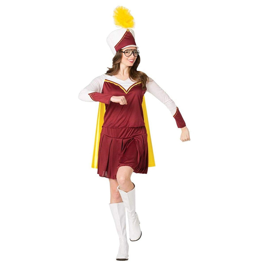 High School Marching Band Adult Female Costume