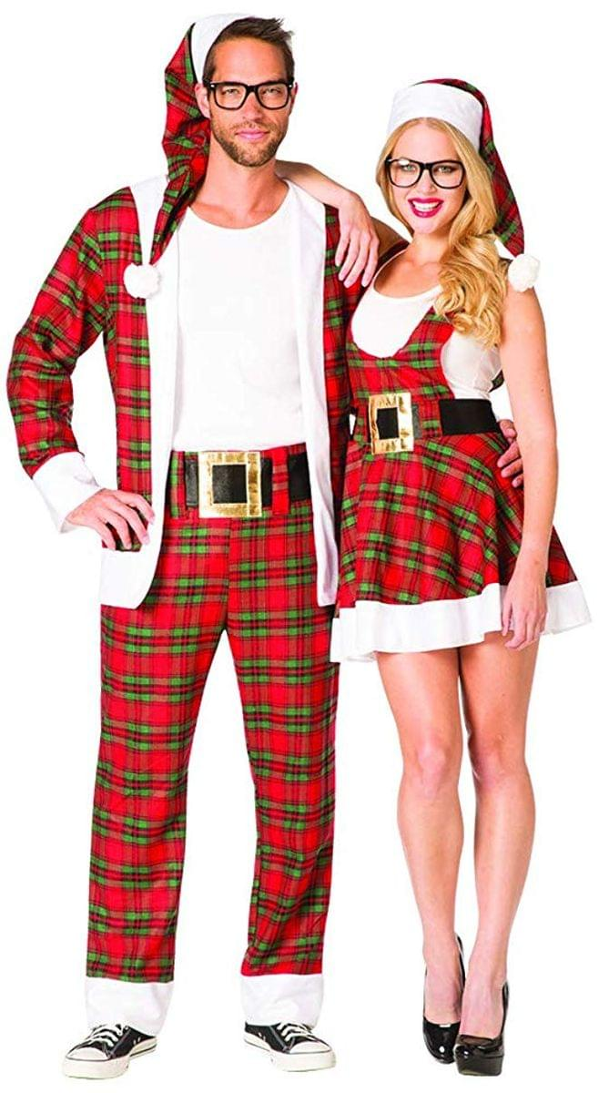 Hipster Ms. Claus Adult Costume