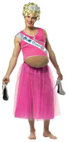 Pregnant Prom Queen Dress Costume Adult