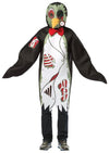 Zombie Penguin Costume Tunic Adult