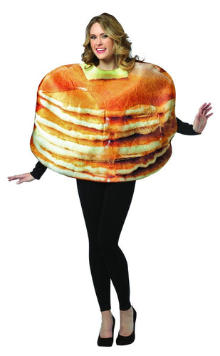 Get Real Stacked Pancakes Costume Adult