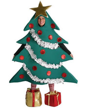 Load image into Gallery viewer, Christmas Tree Costume With Shoe Boxes Adult Standard
