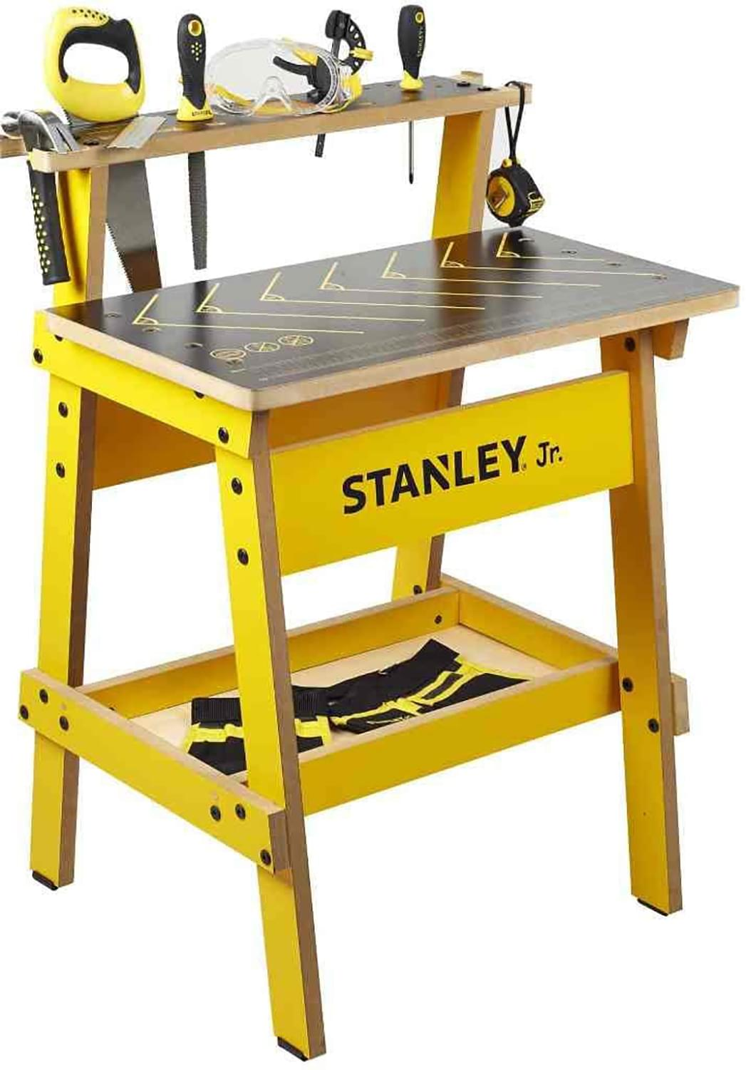 Stanley Jr. Wood Work Bench | Real Tools for Kids