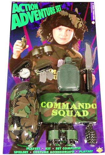 Action Adventure Commando Blister Child Costume Set