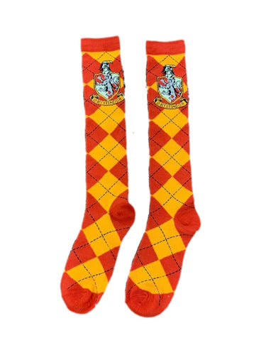 Harry Potter House Gryffindor Adult Costume Socks | One Size Fits Most