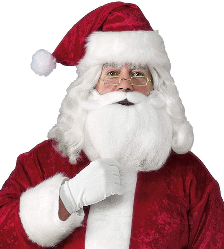 Santa Hat With Beard & Glasses