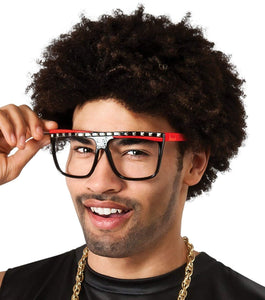 LMFAO Red Glasses Costume Accessory Adult